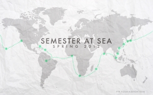 Semester at Sea Spring 2012 Desktop Background