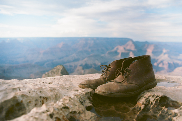 My boots - Grand Canyon, Arizona