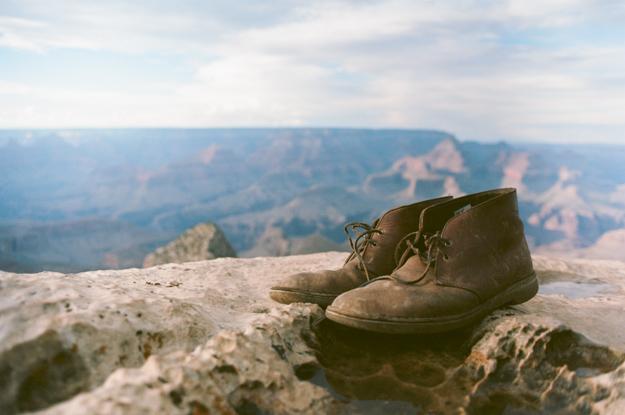 My boots - Grand Canyon, Arizona