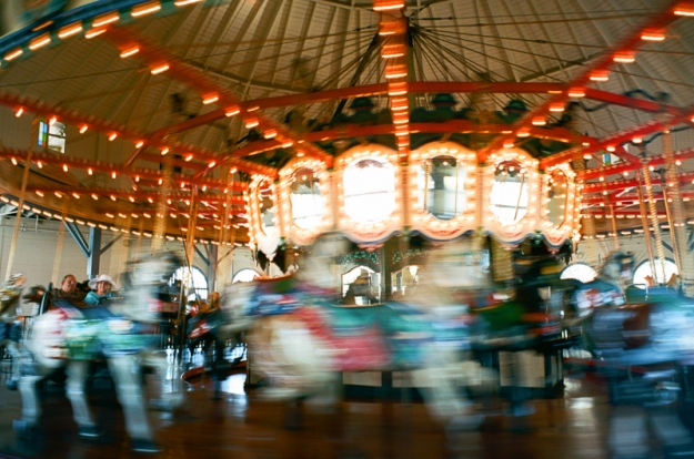 Carousel on Santa Monica